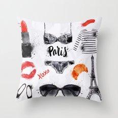 Paris 03 Throw Pillow