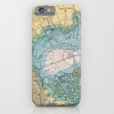 Vintage Arctic Map iPhone 6 Slim Case