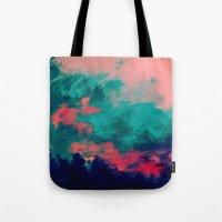 Painted Clouds IV Tote Bag