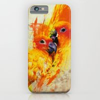 iPhone & iPod Case featuring Love Birds by ys7ven