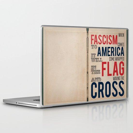 Fascism Laptop & iPad Skin