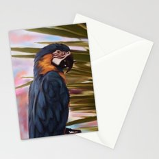 Mccaw Parrot Stationery Cards