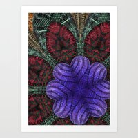 Psychedelic Botanical 2 Art Print