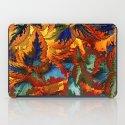 colorful foliage iPad Case