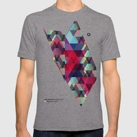 Try Pixworld Mens Fitted Tee Tri-Grey SMALL