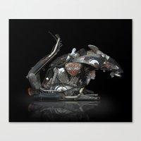 RAT BIKE Canvas Print