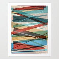 Geometric Prison Art Print
