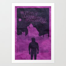 The Wolf Among Us - Post… Art Print