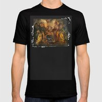 Angels Al Fresco Mens Fitted Tee Black SMALL