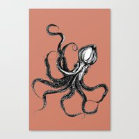 Squid  Canvas Print