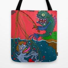 Fishin' time! Tote Bag