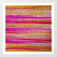 FUNKY RHYTHM 2 - Beautif… Art Print