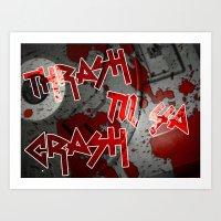 THRASH Art Print