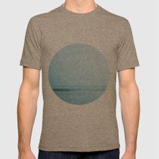 Nautical Porthole Study No.2 Mens Fitted Tee Tri-Coffee SMALL