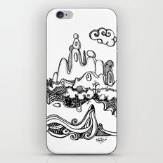 Lonely mountain iPhone & iPod Skin