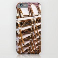 Paris Café Chairs iPhone 6 Slim Case
