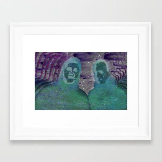 """Instrumental Tourist"" by Mike Zell Framed Art Print"