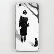 Black And White iPhone & iPod Skin