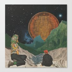 Celestial Bodies Canvas Print