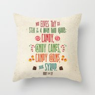 Buddy The Elf! The Four … Throw Pillow