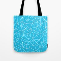 Ab Outline Electric Tote Bag