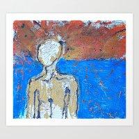 M(revolting)an Anonymous Art Print