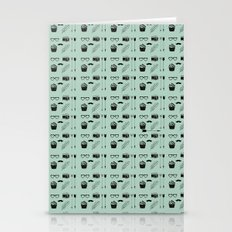 Hipster Wallpaper Stationery Cards