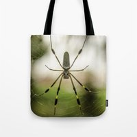 Autumn Spider Tote Bag