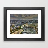 City Of Paris Framed Art Print