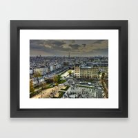 City Of Paris Framed Art Print