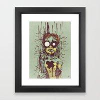 Puppet II. Framed Art Print