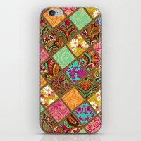 Patchwork Paisley iPhone & iPod Skin