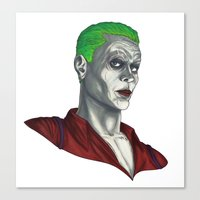 The Joker Canvas Print