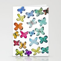 For A Friend: Butterflies Stationery Cards