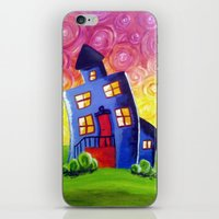 Happy House iPhone & iPod Skin
