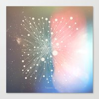 Connected Stars Canvas Print
