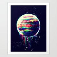 Deliquesce Art Print