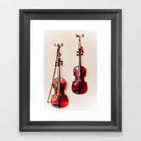 Make Music Framed Art Print