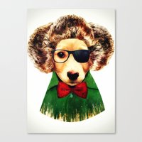 Dog ( Ben) Canvas Print