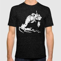 A Carnivore's Dream Mens Fitted Tee Tri-Black SMALL