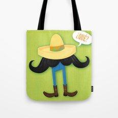 Mexstache Tote Bag