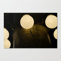 Light Marbles  Canvas Print
