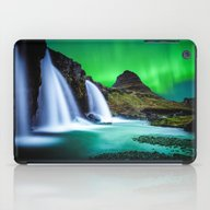 Aurora Borealis Waterfal… iPad Case