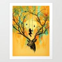 Playmate Art Print