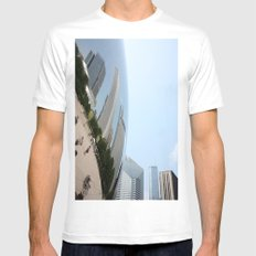Distort Mens Fitted Tee SMALL White