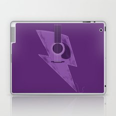 Electric - Acoustic Lightning Laptop & iPad Skin