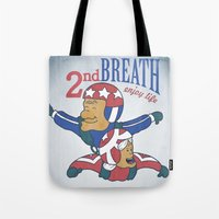 Second Breath Tote Bag