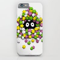 iPhone Cases featuring Susuwatari by Puddingshades