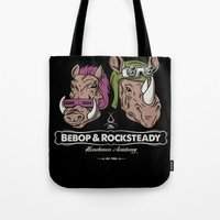 Bebop & Rocksteady Henchmen Academy  Tote Bag