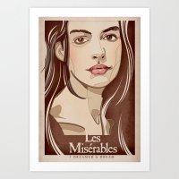 FANTINE Art Print